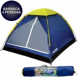 Barraca Camping Tenda Iglu 4 Pessoas Mor