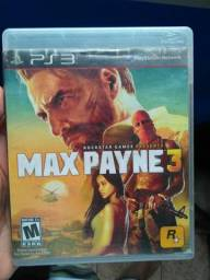 Max Payne 3 Original Novinho Playstation 3
