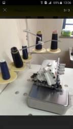 Máquina de costura interlok Bruce