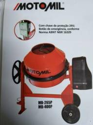 Betoneira 400Litros Monofásico 220V Motomil-MB400P