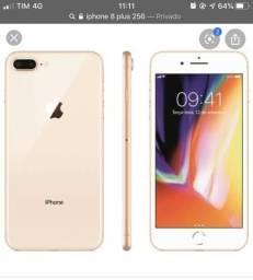 Troco iPhone 8 Plus de 256 Gb