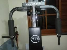Estação de musculação WCT Fitness com 80Kg