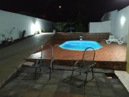 Área de festa com piscina ( são Cristóvão)
