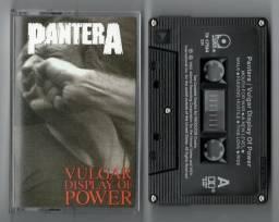 Fita Cassete Pantera - Vulgar Display Of Power