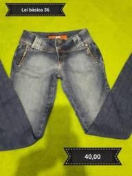 Calça jeans Lei básica