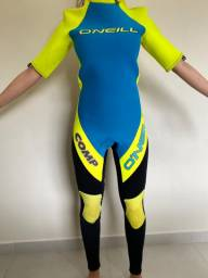 Wetsuit Long John com Mangas Removíveis