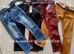 Calças Jeans Infatis