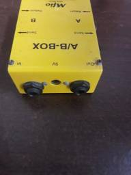 Vendo pedal para guitarra AB box