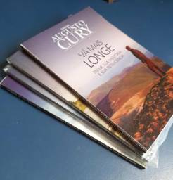 Coleção Augusto Cury (novos e semi-novos)