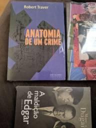 kit com 3 livros lacrados