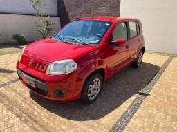 Fiat Uno Vivace 1.0 Vermelho