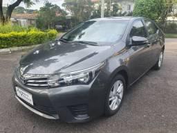 Toyota Corolla GLI 1.8 Flex Automático Blindado 3a 2016 Único dono