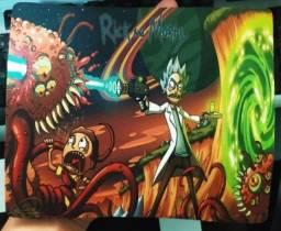 Mouse Pad Rick And Morty De Ótima Qualidade!!!