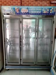 Freezer horizontal 3 portas