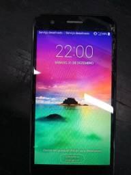 Smartphone LG k10 2017 tela e touch quebrado