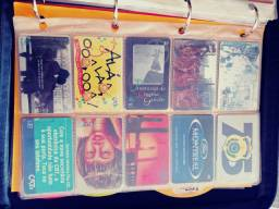 Vendo coleção cartão telefônicos