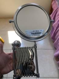 Espelho Dupla Face Sanfonado