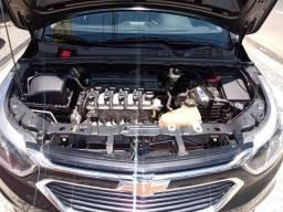 Chevrolet Cobalt 1.8 LTZ automático preto Ano 2017/2017