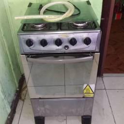 Vendo fogão inox  (funcionando)