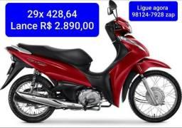 BIZ 110 Lance R$ 2.890,00 Consórcio em Andamento