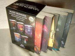 Maze Runner_Box com 5 volumes_nunca lidos