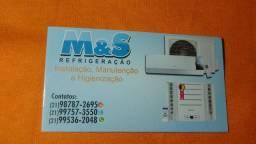 Serviços em ar condicionados ( leia a descrição )