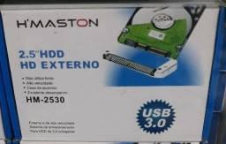 Case 3.0 completo para HD de notebook xbox ps4 (NOVO)