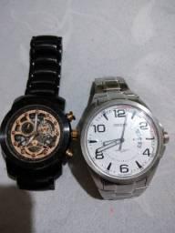 Relógios Orient e Bulgari