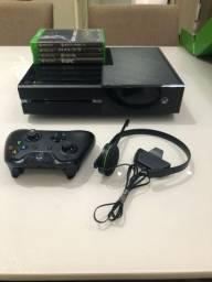Xbox one 500gb com caixa e todos acessórios