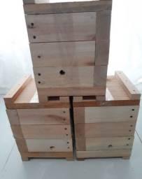 Caixa INPA para abelha mandaçaia jatai manduri bugia