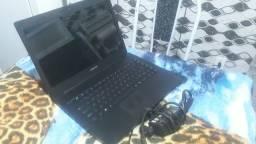Notebook hd 500 4gb bateria Boa já está formatado