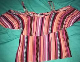 Blusa Ciganinha tamanho 38 nova