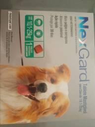 Nexgard parasiticida para cães com 10 a 25 kilos