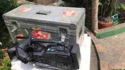 Câmera Sony XD Cam, Power Had EX com o Case