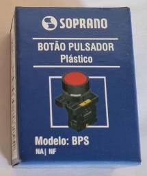 Botão De Comando Pulso Verde Ou Amarelo 1na-s/ Ilum-soprano