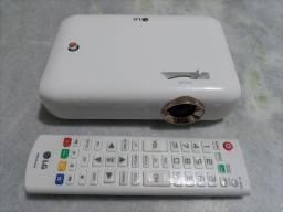 Projetor LG com TV e bateria interna. Moro em Caruaru