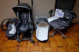 Vendo carrinho bebê trio chicco
