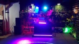 dj som iluminação para festa