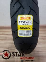 Pneu Pirelli Diablo 160/60-17 - Cb500f/Cb500x/XJ6 - Novo
