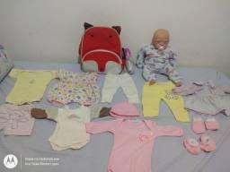 Boneca bebê reborn em perfeito estado (SEMINOVO