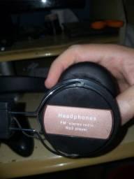 Heaphone Stereo Radio Mp3 player