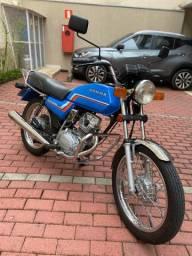 Honda CG 125 1983 - Placa Preta