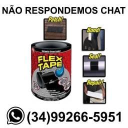 Fita Adesiva Para Reparos Black Cola Flex Tape 10cm x 150cm
