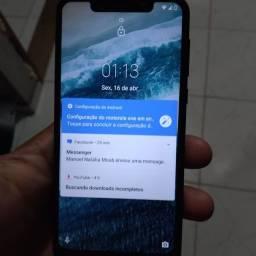 Moto one bem conservado 64 gb