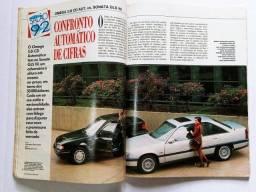 Quatro Rodas Nº387 Out/92 - XR3, Omega CD 3.0, F1000, Swift