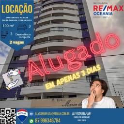 Título do anúncio: AR Alugo apartamento de alto padrão na Aabb em Serra Talhada PE