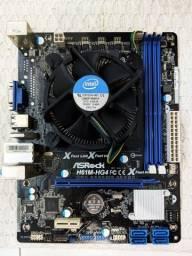 Kit Core i5 3570 + Placa mãe H61M-HG4 (sem memórias)