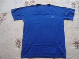 Camiseta infantil, marca: Lacoste, tamanho P na cor azul