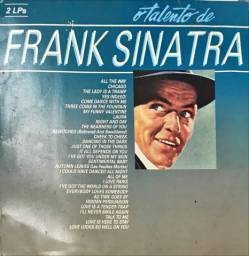 LP vinil o talento de Frank Sinatra ( Album duplo)