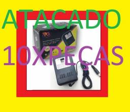 10 x unidades Fonte Nova de Video Game Super Nintendo Snes Bivolt atacado